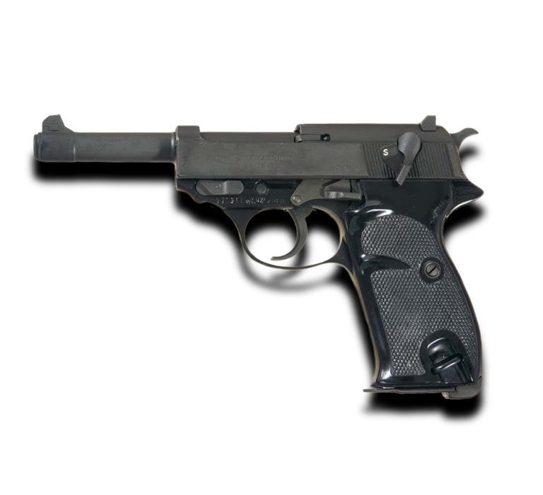 Пистолет WALTHER P1